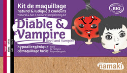 Kit maquillage Namaki - Diable & Vampire