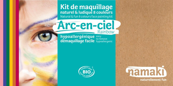 Kit maquillage Namaki - Arc-en-ciel
