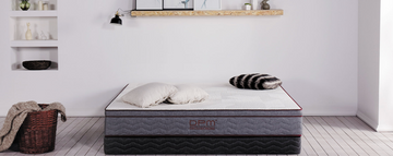 DPM HOME Mattress Spinerite King 26 with Storage Bed Frame