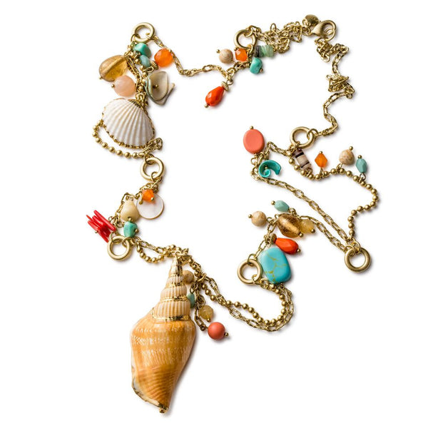 Stranded 'Seashore Treasures' Neck Lanyard