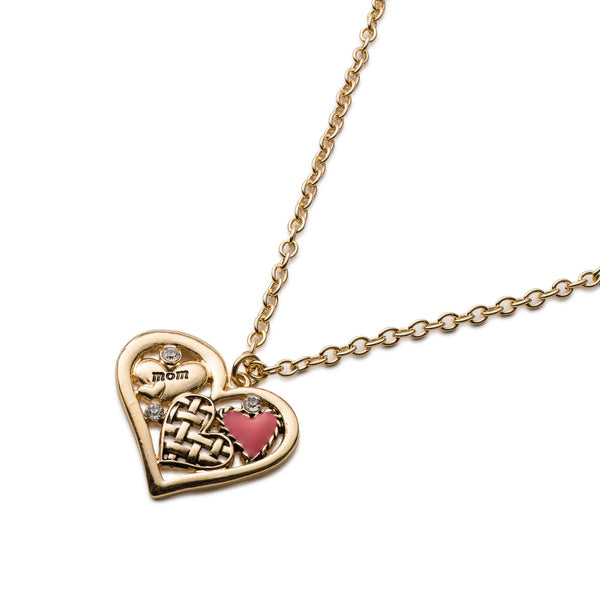 Motherly Love Heart Shaped Necklace