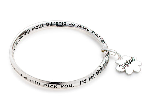 'Sister' Forever Connected Bracelet