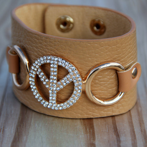'Circle of Peace' Earth Cuff