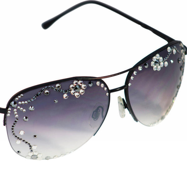 'Floral Shades' Aviator Eye Candy