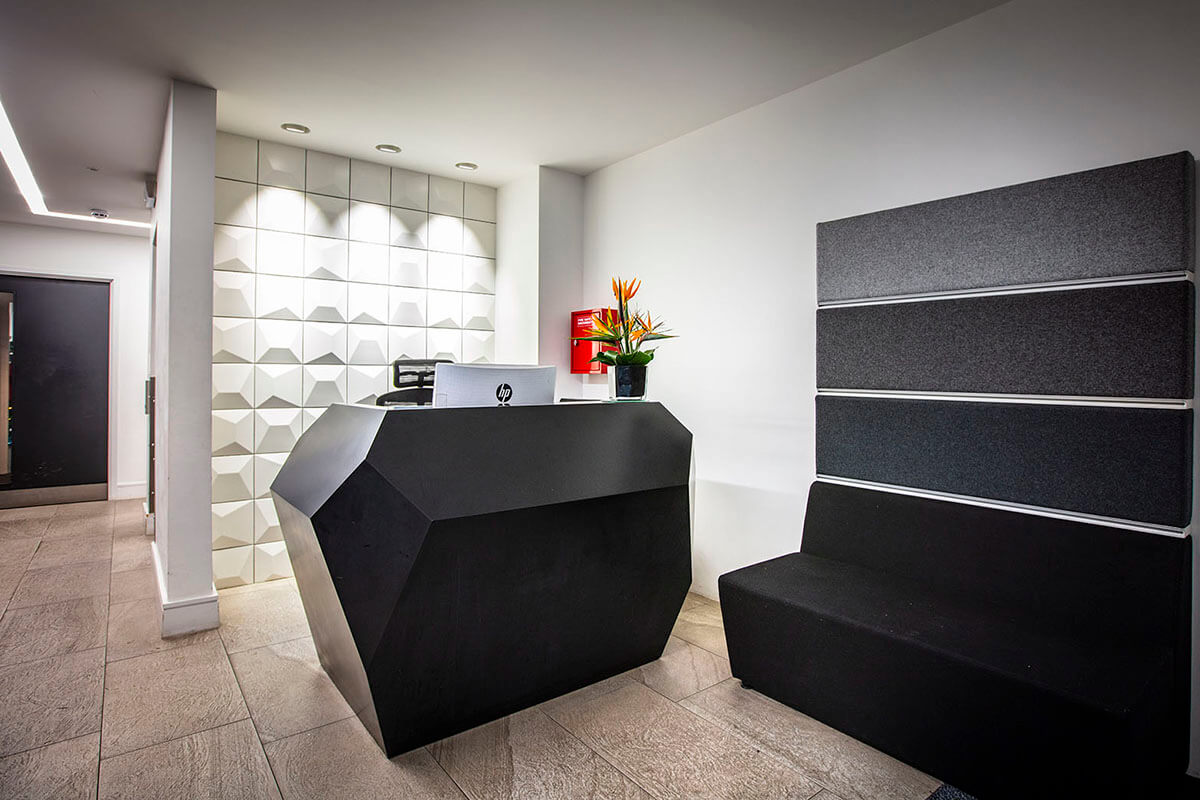 Clarke Rendall Reception Desks