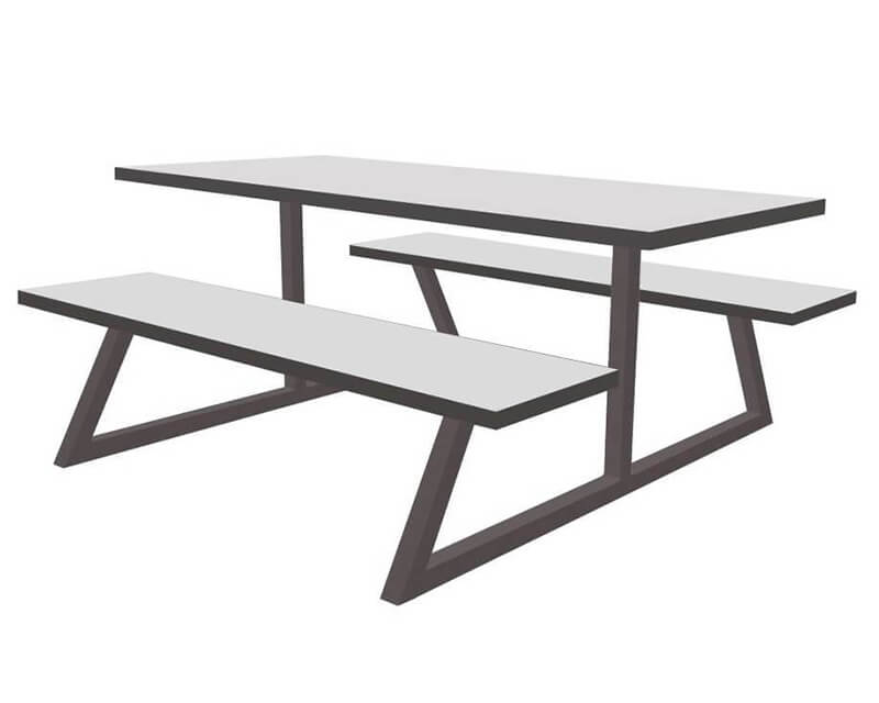 Nova Dining Table and Bench