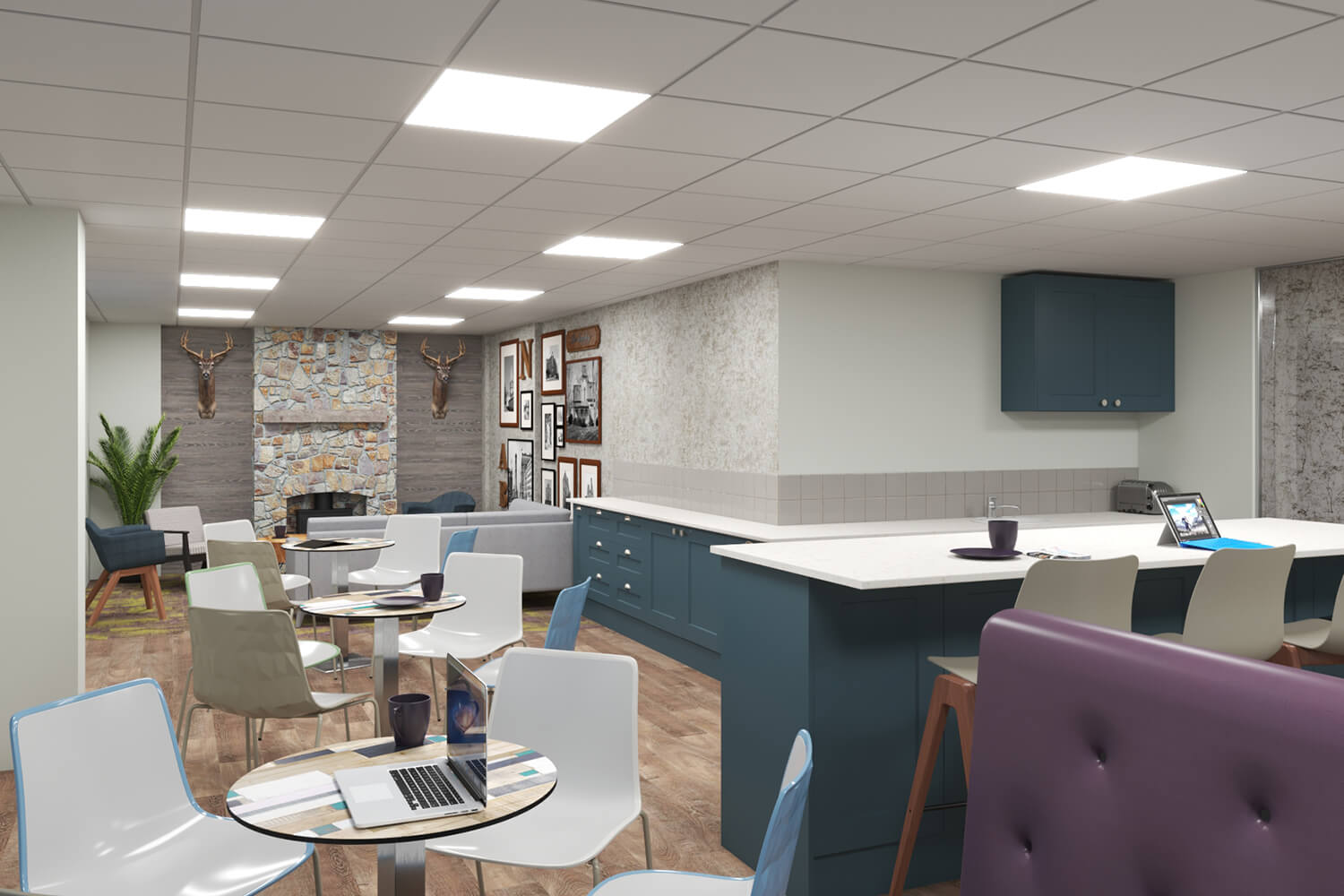 Commercial Dining Area Project