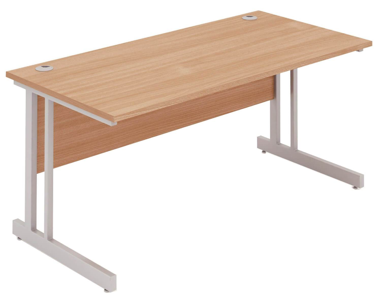 Workpro Cantilever Rectangular Desk