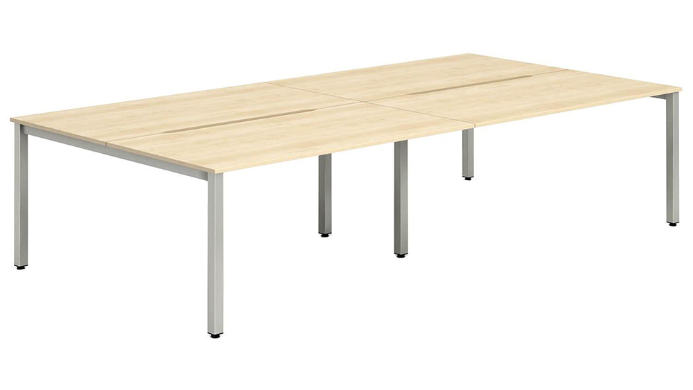 Workpro Four Person Bench Desk