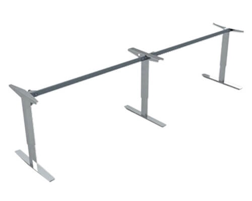 ConSet 501-47 Height Adjustable Long Desk