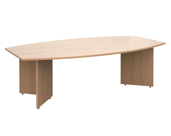 Workpro Robin Radial Boardroom Table
