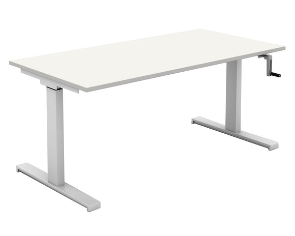 Mobili Rectangular Crank Desk