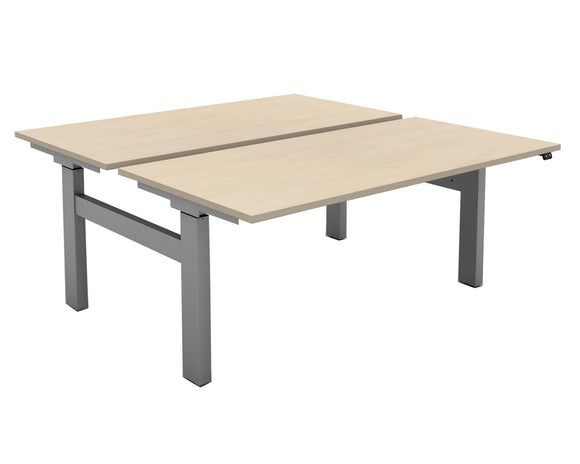 Mobili Rectangular Back to Back Electric Desk
