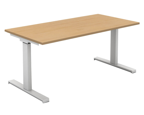 Mobili Rectangular Manual Desk