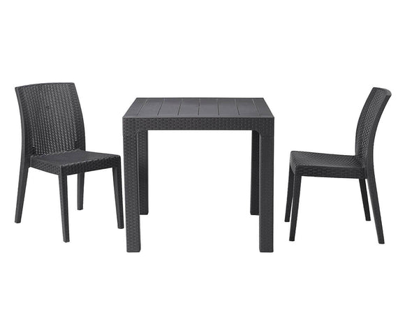 Tabilo Richmond Square Table and Side Chair Bundle
