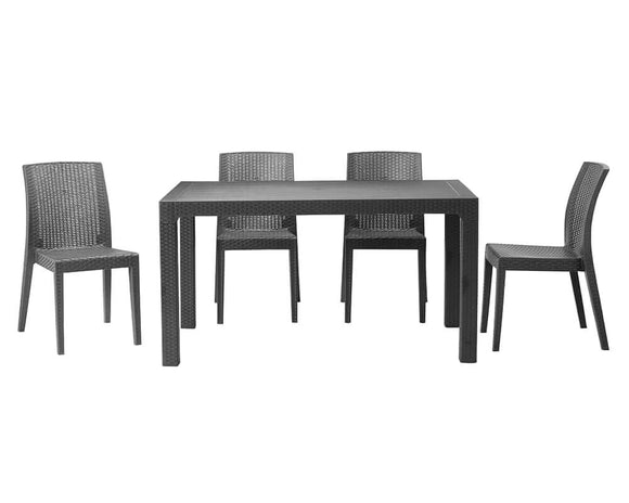 Tabilo Richmond Rectangular Table and Side Chair Bundle