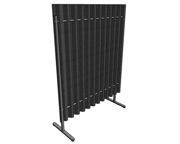 Allsfär Diffuse Straight Acoustic Screen