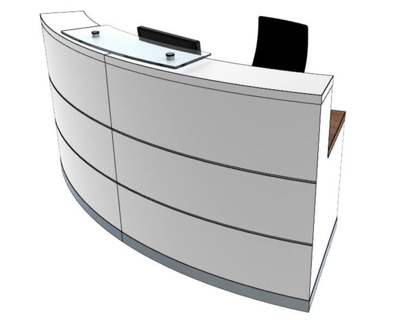 Clarke Rendall Eclypse Reception Desk