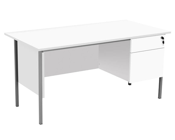 TC Group Eco 18 Single Desk with Single Pedestal