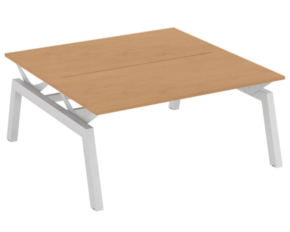 Elite Linnea Elevate Fixed Height Double Bench Desk
