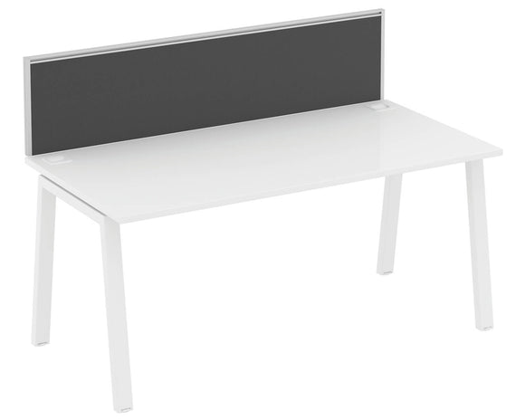 Elite Linnea Single Desk Screen