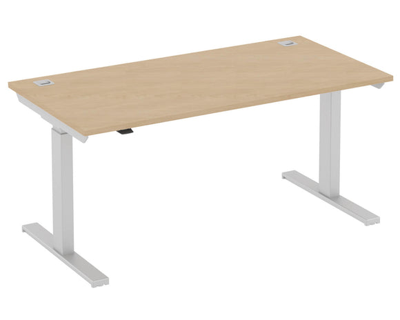 Elite Progress Height Adjustable Rectangular Desk