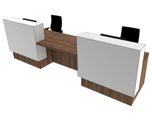 Clarke Rendall Evoke Reception Desk