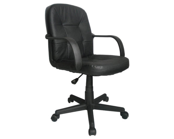 Workpro Fabian Leather Faced Operator Chair