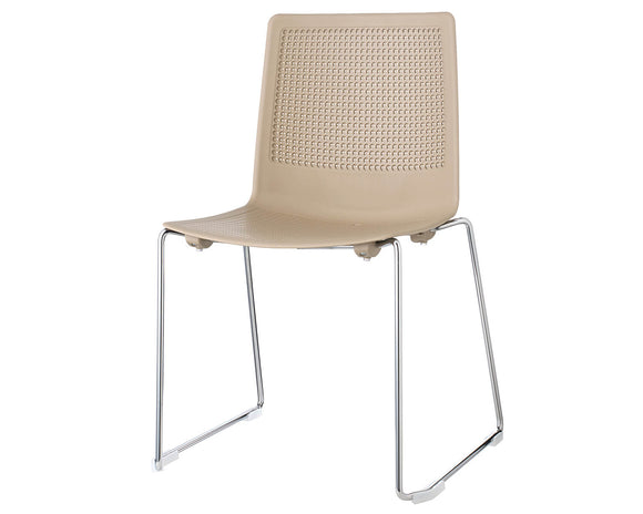 Social Spaces Harmony Multi-Purpose Chair with Sled Frame