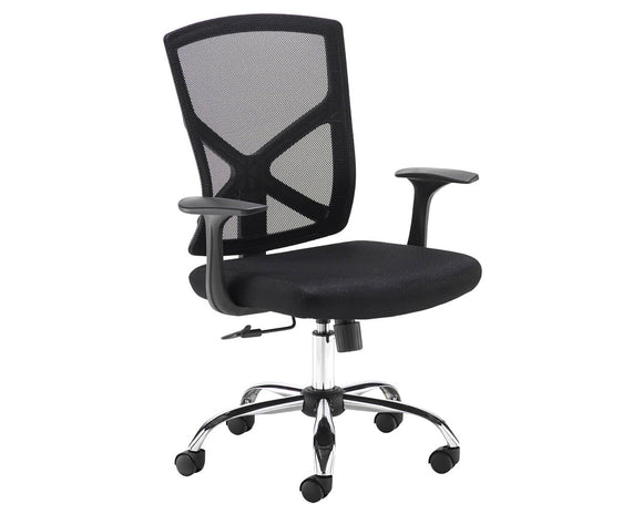 Workpro Heart Mesh Back Operator Chair