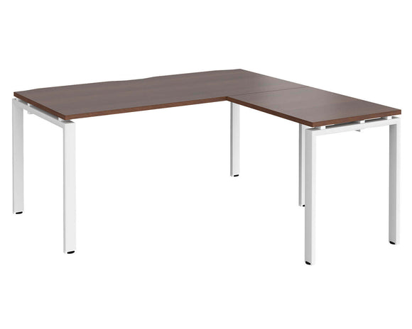 Workpro Inspire Bench Desk with Return