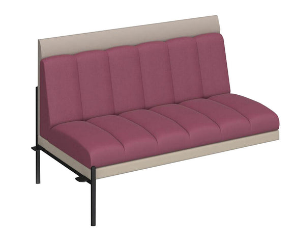 Social Spaces Kastaway Low Back Sofa Add-On Unit