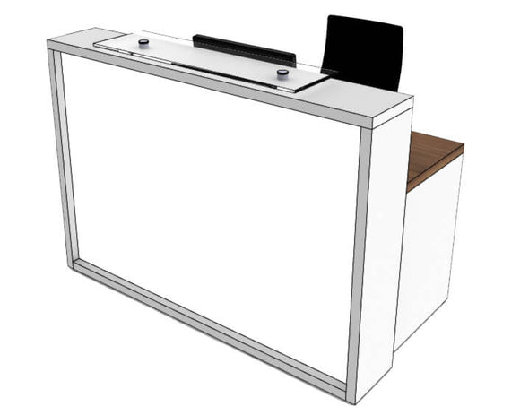 Clarke Rendall Light Reception Desk