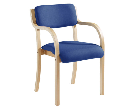 Workpro Senate Wooden Frame Conference Chair
