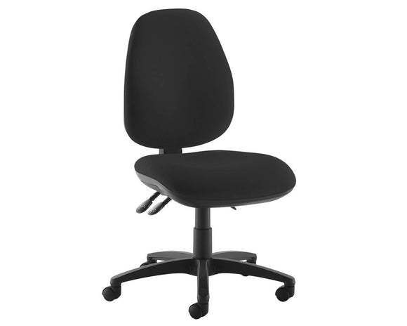 Workpro Silver High Back Operator Chair