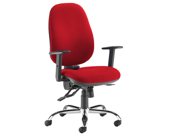 Workpro Silver 24hr Ergonomic Asynchro Task Chair