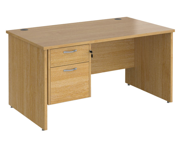 Workpro Tenor Panel End Desk with Pedestal