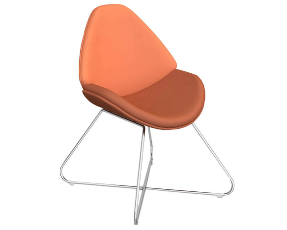 Social Spaces Twist Lounge Chair