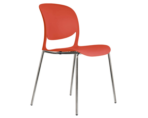 Social Spaces Verve Multi-Purpose Chair with 4 Leg Frame