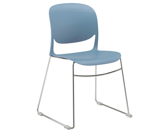 Social Spaces Verve Multi-Purpose Chair with Sled Frame