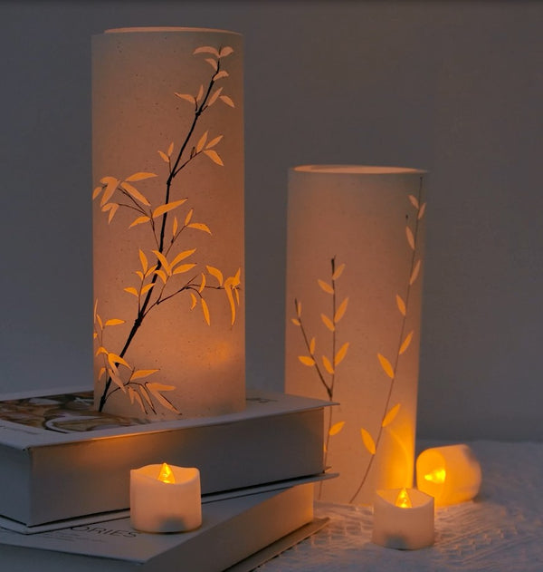 DIY a lovely Shade for Tealight