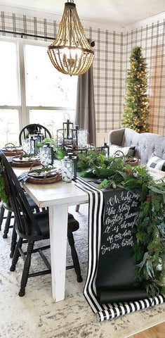Rustic Holiday Dining