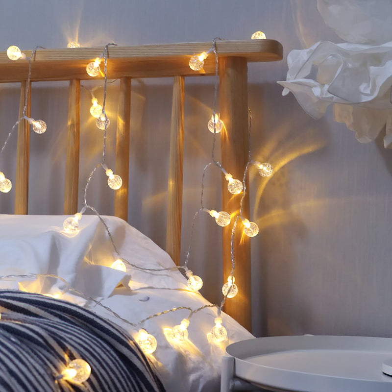 KooPower USB-Plug 12m/39ft 100-LED Globe String Lights