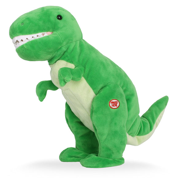 Littleup Singing Plush Dinosaur