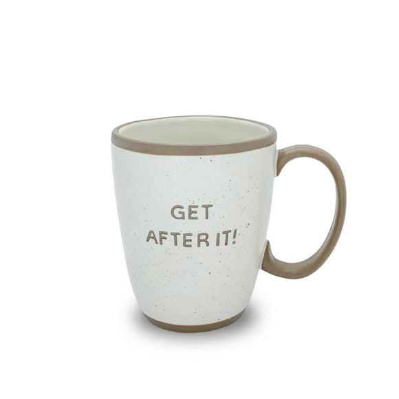 Stoneware Get After It Mug