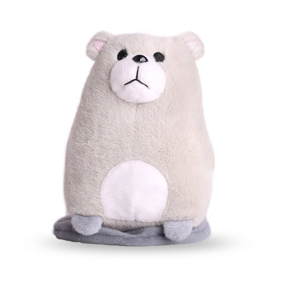 Littleup Grey Bear Shoulder Plush