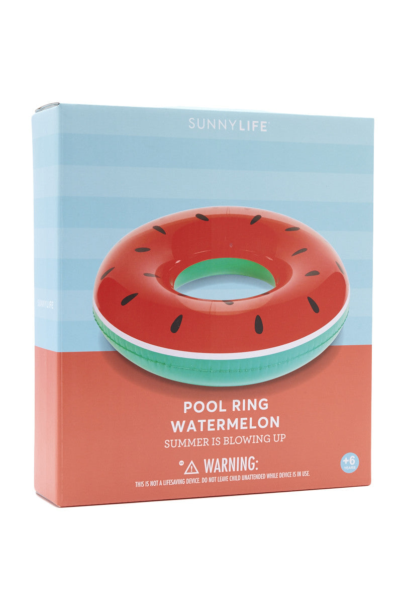 SUNNYLIFE Watermelon Pool Ring Accessories | Watermelon| sunnylife watermelon pool ring