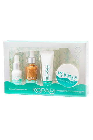 KOPARI BEAUTY Coconut Multitasker Kit Beauty | Coconut Multitasker Kit