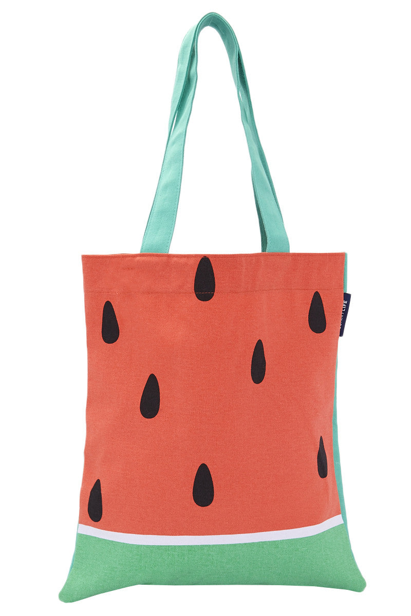 Watermelon Tote Bag - Red
