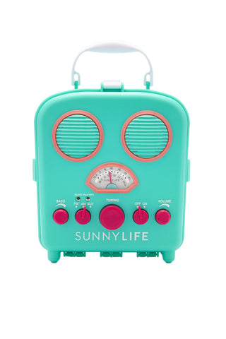 SUNNYLIFE Beach Sounds Accessories | Turquoise| Sunnylife Beach Sounds